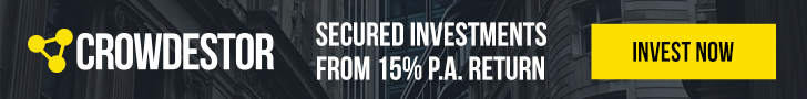 Invest now in Crowdestor secure investments and earn from 15% annual returns